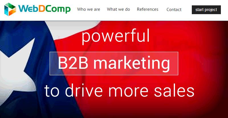 WebDComp Media remodels the B2B marketing landscape in Houston, Texas